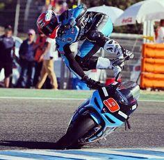 Petrucci crash jerez 2014