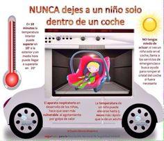 NIÑOS EN EL COCHE NUNCA SOLOS II