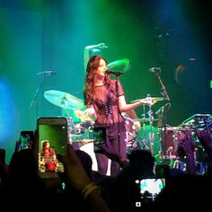 Lana performing at the House of Blues in San Diego in Califórnia last night