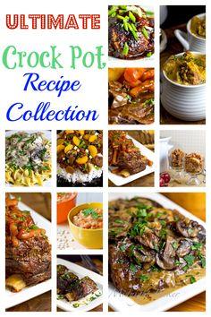 Ultimate Crock Pot Recipe Collection | bakeatmidnite.com | #crockpotrecipes #slowcookerrecipes