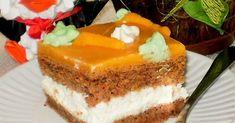 Witam Kochani tego wrześniowego popołudnia  Dziś przychodzę do Was z bardzo ciekawym ciastem.  Jego głównym składnikiem jest marchewka. Cia... Mousse Au Chocolat Torte, Polish Recipes, Polish Food, Comfort Food, Homemade Cakes, Ale, Carrots, Cheesecake, Herbs