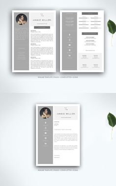 Resume template for MS Word. Resume Templates. $20.00