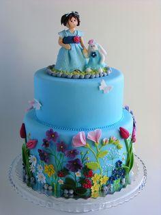 Lief meisjes taartje