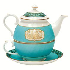 Fortnum's Tea for One. From Fortnum and Mason at 95 pounds (about $140). It IS cute.