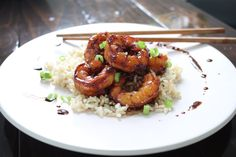 Honey Garlic Shrimp | The Squishy Monster