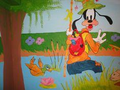 Detail of Disney wall art No2 Τοιχογραφιες παιδικων δωματιων - www.wallinart.gr Disney Characters, Fictional Characters, Paintings, Wall Art, Paint, Painting Art, Painting, Fantasy Characters, Drawings