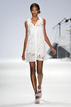 Nanette Lepore Spring 2011 Ready-to-Wear Fashion Show - Melodie Monrose