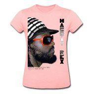 Women's T-Shirts ~ Women's Heather Jersey T-Shirt ~ MASSIV REX