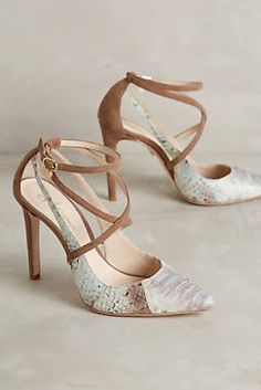 Shop unique high heels from Anthropologie for your essential pumps, kitten heels and more. Dream Shoes, Crazy Shoes, Me Too Shoes, Pretty Shoes, Beautiful Shoes, Zapatos Shoes, Shoes Heels, Work Heels, Strappy Heels