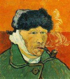 Paul Gauguin's painting of Van Gogh.