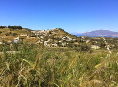 Kamilari, View of the village Site Archéologique, Home And Away, Vineyard, Shots, Mountains, Nature, Travel, Outdoor, Small Island