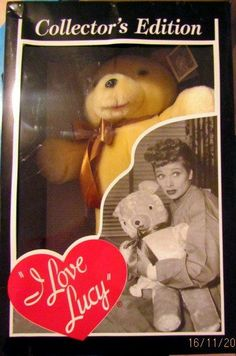 I Love Lucy Collectable Bear