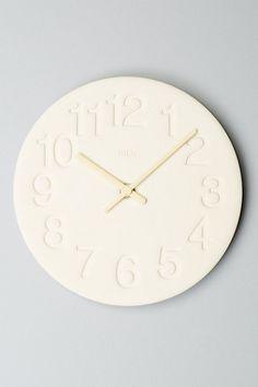 nasu wall clock #anthrofave use code HOLIDAY20 for 20% off