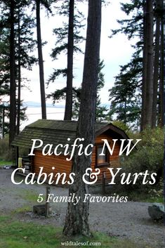 Pacific Northwest Cabins and Yurts: 5 Family Favorites. Best Places To Camp, Oh The Places You'll Go, Places To Visit, Oregon Travel, Travel Usa, Oregon Road Trip, Texas Travel, Beach Travel, Thing 1