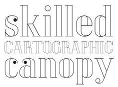 Mayene picks LTC Glamour Hairline Engraved by Colin Kahn, published by Lanston Type Co. → June 2012 #fontshop