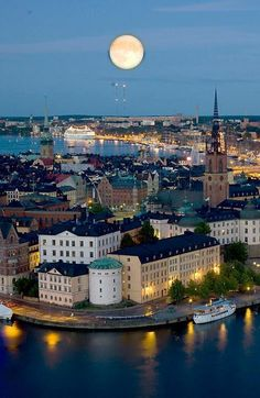 Stockholm, Sweden @ Night