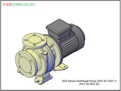 3D Pump: 3D Series Centrifugal Pump 3DS 32 125/1.1 Autocad, Centrifugal Pump, Cad Blocks, Pumps, 3d, Accessories, Pumps Heels, Pump Shoes, Heel Boot