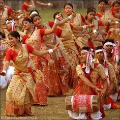 Rongali Bihu...Spring festival of Assam