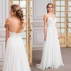 Vestido de novia griego de macrame · Greek macrame wedding dress - www.santoencanto.cl/vestidos-de-novia/