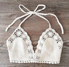Crochet Bikini Crochet Swimsuit Sexy bikini by WomensScarvesTrend