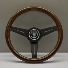 Nardi Classico Steering Wheel 340MM Wood With Black Spokes