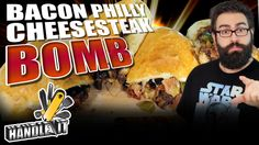 Bacon Philly Cheesesteak Bomb - Handle it
