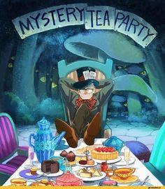 Alice in Wonderland / Gravity Falls