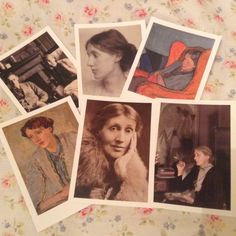 heystellaaaa: postcards from the Virginia Woolf exhibition