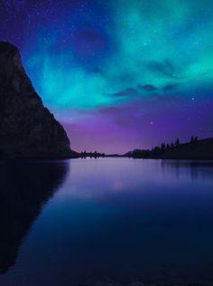 "coiour-my-world: ""aurora borealis ~ Burak Duman """