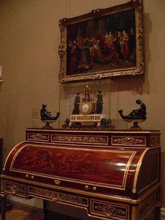 Мебель в стиле классицизм. XVIII в.: ornament_i_stil