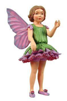 Retired Cicely Mary Barker Scabious Flower Garden Fairy Ornament Figurine   eBay