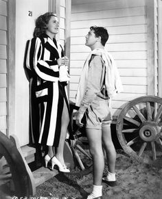 """Cary Grant and Irene Dunne in """"Penny Serenade"""" (1941)."""