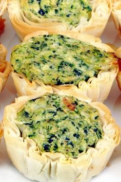 EB Spinach, Brie & Bacon Mini Quiche, by Stephanie Russo, is from The Russo Jr Cookbook Project, one of the cookbooks created at FamilyCookbookProject.com.