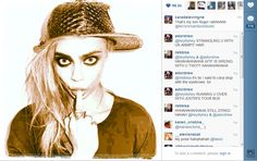 Cara instagrams her Theo Fennell Beastie Ring