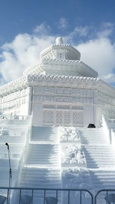 Snow Sculpture, Sapporo, Japan