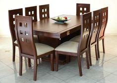 Comedor 6 sillas rectangular