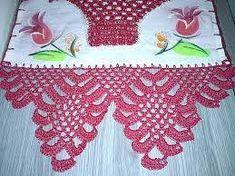 Image result for panos de prato com croche