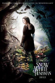 Snow White  Can't wait to see this. It's too bad Kristin stewart is in it though...