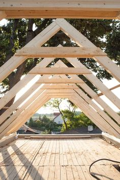 shed plans! Start building amazing sheds the easier way. with a collection of shed plans! Shed Building Plans, Shed Plans, Building A House, Building Homes, Shed Design, House Design, Roof Truss Design, Shed Cabin, Framing Construction
