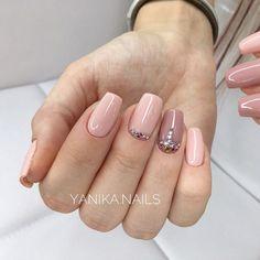 Фотография Acrylic Nails, Gel Nails, Nail Polish, Simple Nail Designs, Nail Art Designs, Beautiful Nail Art, Simple Nails, Nail Inspo, Manicure And Pedicure