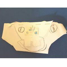 Papierschlüppi, Kinderkunst, Kinderzeichnung, Kleine Künstler