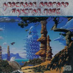 Anderson Bruford Wakeman Howe cover art by Roger Dean