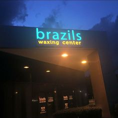 Brazils after dark! Hope all your Jacksonville folks are enjoying the new location as much as we are! #waxing #jax #jacksonville #wax #brazilswaxing #brazilianwax #eyebrowwax #legwax