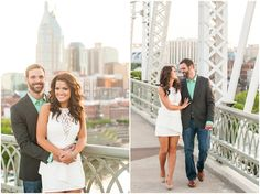 Downtown Nashville Engagement