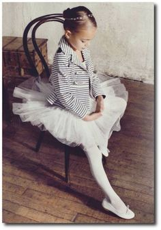 from the magazine #Vogue #tutu