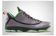 Jordan CP3.VI AE Wolf Grey/Bright Crimson–Dark Grey–Electric Green