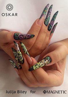 Nails by Tatiana Kashapova Design by Julia Biley