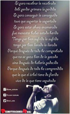 Las pasti Piti Fernandez, Rock N, Rock And Roll, Spanish Phrases, Writings, Lyrics, Poetry, Quotes, Tatoo