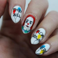 "Pennywise ""It"" Nails"