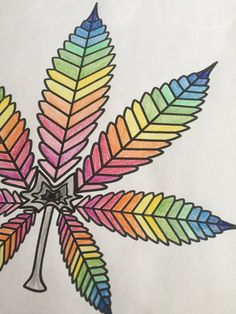 Marijuana Leaf Adult Colouring Page DIY by AllSeeingHigh on Etsy Adult Coloring, Coloring Books, Coloring Pages, Stoner Art, Weed Art, Marijuana Leaves, Puff And Pass, High Art, Psychedelic